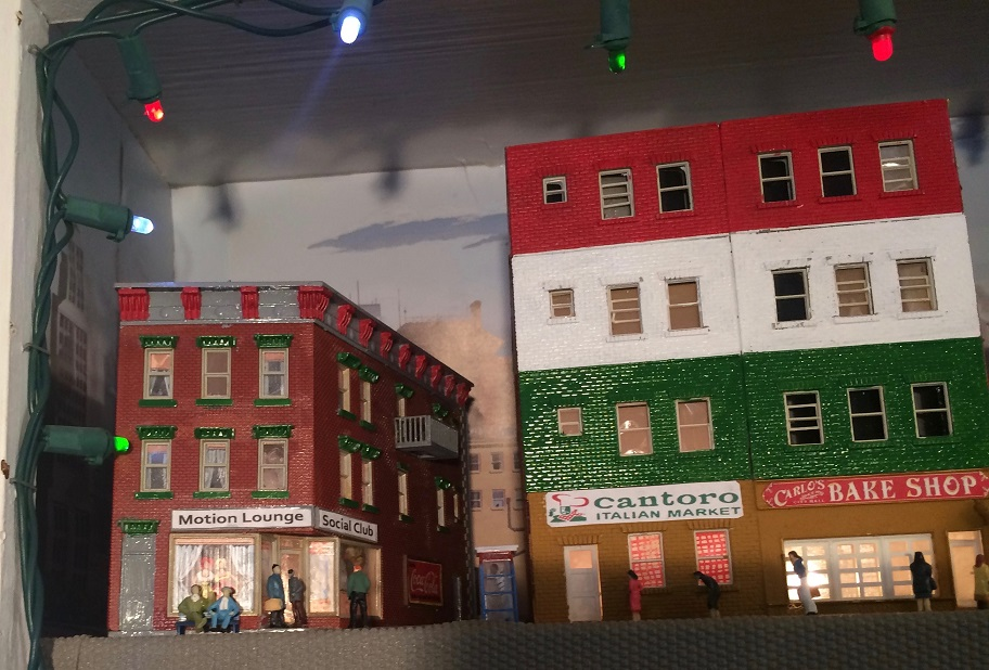 Little Italy model train layout
