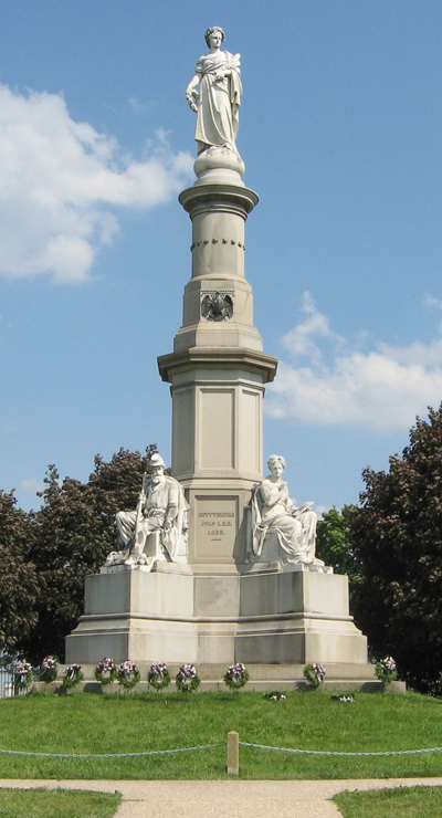 Soldiers' Monument at Gettysburg National Cemetery